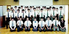 県内4校から生徒33人がコンテストに参加した=15日午前、八重山商工高校視聴覚室