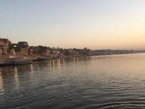 Varanasi und der Fluss Ganges