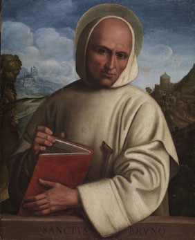 San Bruno di Colonia, ( Girolamo Marchesi, Walters Art Museum di Baltimora, U.S.A )