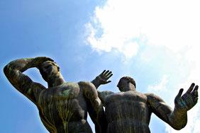 OmoGirando il Villaggio Olimpico - I Podisti di Amleto Cataldi