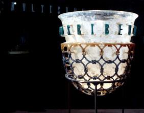 OmoGirando il Museo Archeologico di Milano - la Coppa Diatreta