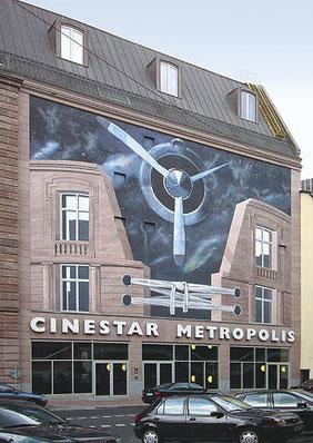 Gert Neuhaus Wandbild/Mural Frankfurt-Metropolis