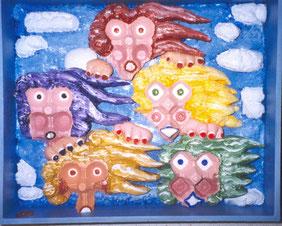 Cinq filles dans le vent