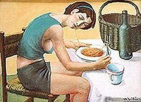 La mangeuse de spaghetti