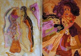 Deux tableaux de Valérie Métras
