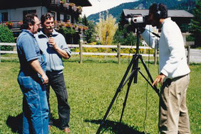 Louis Chabaud interviewé par la télévision locale