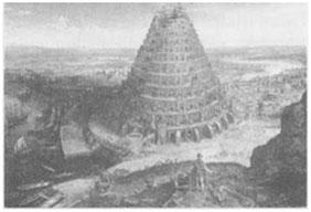 La Tour de Babel de Lucas Van Valckenborgh (av. 1535-1597) RMN Jean Schormans