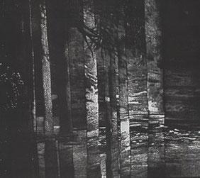 """Lumière de pierre"" Aquatinte"
