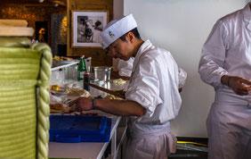 Hotel Restaurant Ryokan Hasenberg zu Besuch beim St. Moritz Gourmet Festival 2016.