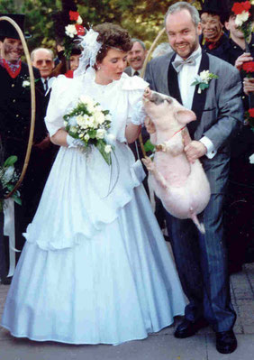 Markus und Sandra im 1990