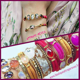 bijoux attrape reves pegomas boutiqueattrapereves hipanema bracelet manchette stacking accumulation