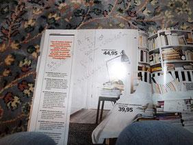 mein Teppich, meine Knie, mein Ikeakatalog, Corey Physikaufgabe