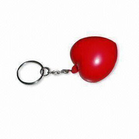 stress ball keyring