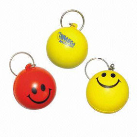 stressball keychain