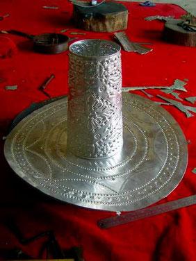 Kunstgegenstände aus Aluminiumblech