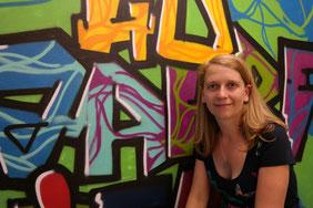 Manuela Wolf, Leiterin des Jugendzentrums