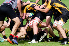 Contact sport that can lead to trauma injury and general muscular tears