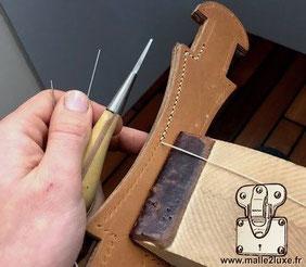 Travail cuir hermes ateliers Louis Vuitton asnieres sur seine trunk malle louis vuitton goyard