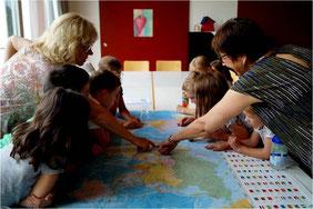 Reiseziel Karibik: Auf Erkundungstour mit der Weltkarte Foto: Claudia Maciejewski