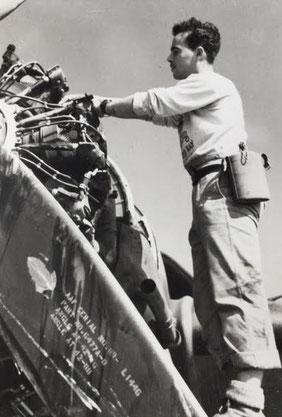 L.A.C. Peter Brennan -  435 Staffel, RCAF,  1944