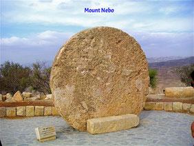 Mount Nebo, Jordanien. Moses starb hier