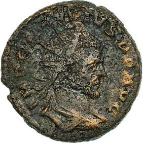 Monnaie Claude II le gothique