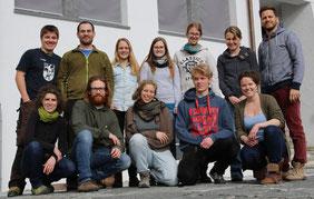 Gruppenbild Kultouren - Schule für Holzbildhauerei