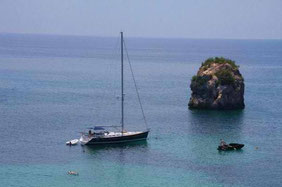 Viw to Ionian sea from Parga