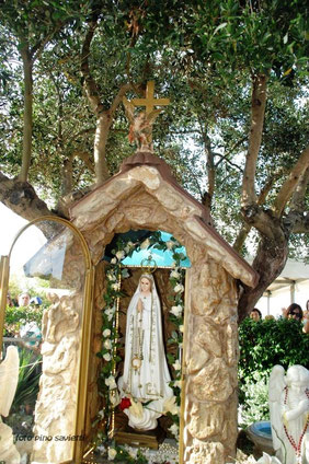 Erscheinungsstelle der Muttergottes im Gesegneten Garten Mariens, in Brindisi