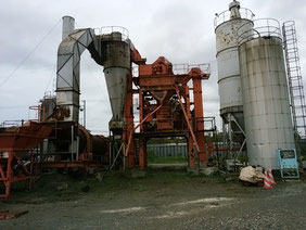 アスファルトプラント NIKKO800 asphalt plant