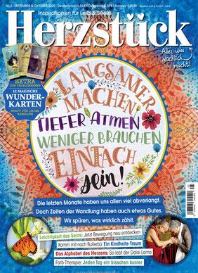 Herzstück Magazin: Erstens kommt es anders, und zweitens als man denkt - Das Magazin mit Inspirationen für Leib & Seele!