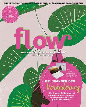 Flow Magazin - Eine Zeitschrift ohne Eile, über kleines Glück und das einfache Leben