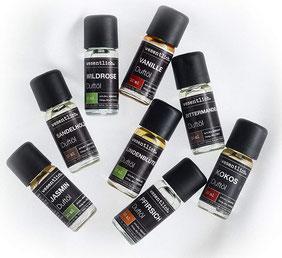 behaglich - ein Set aus acht ausgewählten Duftölen für Duftlampe und Diffuser 8x10ml von wesentlich.