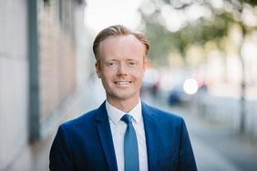 Präsident der THW-Landesvereinigung Rheinland-Pfalz Jan Metzler, MdB