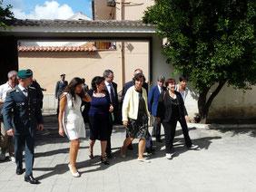 Il Ministro dell'Istruzione, dell'Università e della Ricerca Maria Chiara Carrozza