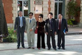 Délégation de Dalat en visite à Montpellier