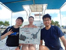 石垣島でのんびりダイビング「ファンダイビングに出発」