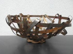 Eisenband-Geflecht-Schale