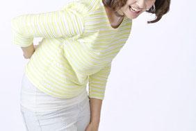 写真:難治性の慢性痛に悩む女性