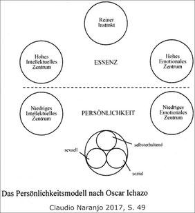 Zentren-Modell von Oscar Ichazo