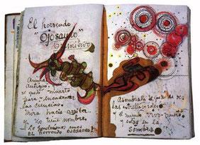 Quaderno della pittrice Frida Khalo