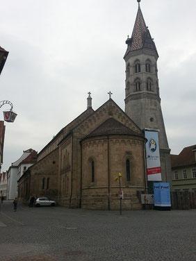 Johanneskirche, St Johannes ist als Pfarrkirche um 1200 erbaut
