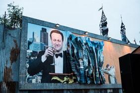 Arte Urbano, Banksy, Parque Temático, Inglaterra, Graffitti
