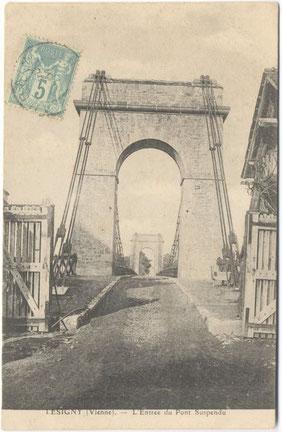 Lésigny-CP13-pont suspendu