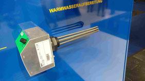 Kombination Heizstab & Regelung der Firma MY PV Warmwasser Power to Heat P2H
