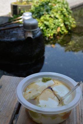 泉の館の寄せ豆腐