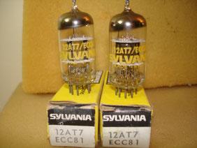 12AT7 / ECC81  NOS obligatoire : je ne trouve pas de bonnes 12AT7 modernes ...