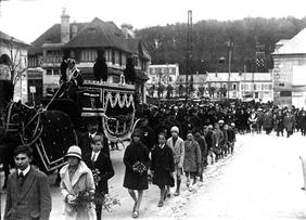 Séverine : Les obsèques à Pierrefonds
