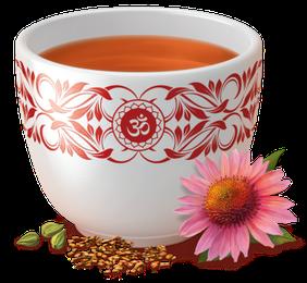 Yogi Tee, Echinacea Tee, Ayurvedische Teemischung, Biotee, einmalig in der Ausgewogenheit und beschützenden Kraft seiner Teegewürze