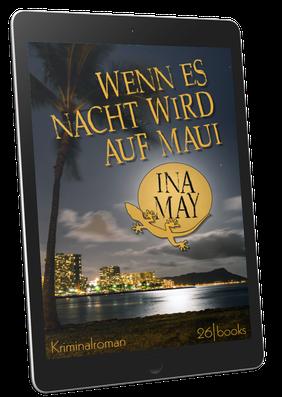 Cover Kriminalroman: Wenn es Nacht wird auf Maui